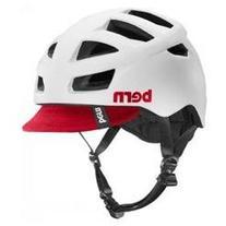 Bern Unlimited Allston Helmet with Red Flip Visor, Satin