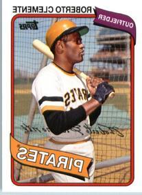2014 Topps Archives Baseball Card # 91 Roberto Clemente -