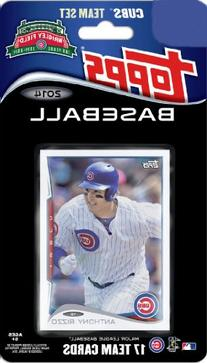 2014 Topps Chicago Cubs Factory Sealed Special Edition 17