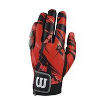 Wilson Clutch Racquetball Glove, Red/Black, X-Small