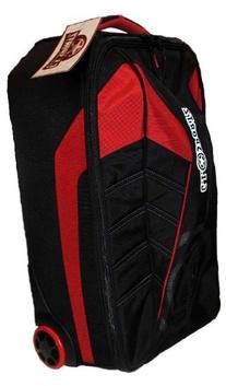 """2014 GI Sportz Paintball Flyr 21"""" Flight Bag - Black/Red"""