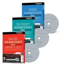 ASA 2015 AMT Prepware BUNDLE - General, Airframe, and