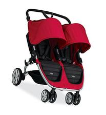 Britax 2015 B-Agile Double Stroller, Red