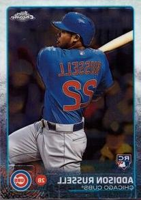 2015 Topps Chrome Baseball #24 Addison Russell Rookie Card