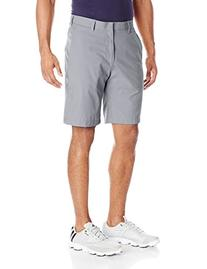adidas Golf Men's Climalite 3-Stripes Shorts, Mid Grey/Vista