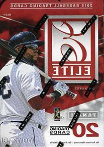 2015 Panini Elite Baseball Factory Sealed HOBBY Blaster Box