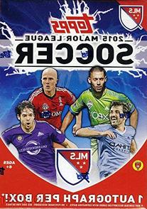 2015 Topps MLS Major League Soccer EXCLUSIVE Factory Sealed