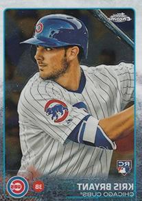 2015 Topps Chrome MLB Baseball Series Complete Mint Hand