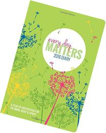 2016 Every Day Matters Desk Diary Calendar