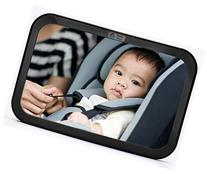 Back Seat Mirror - Rear View Baby Car Seat Mirror by Baby