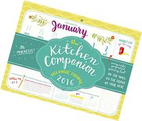 2016 The Kitchen Companion Page-A-Week Calendar
