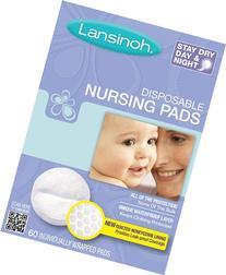 Lansinoh 20265 Disposable Nursing Pads, 60-Count Boxes