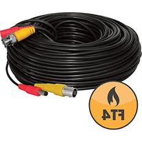 Defender  130ft In-Wall, Fire-Rated UL/FT4 Certified