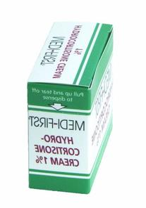 Medique Products 21173 Hydrocortisone Cream, 25 Packets Per
