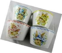 222 Fifth Bunny Party Easter Appetizer Dipping Bowl Set of 4