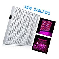 Excelvan 45W 225 SMD LED Hydroponic Plant Grow Light Panel