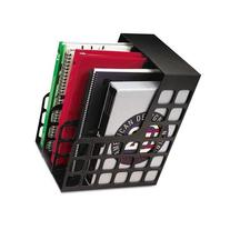 PENDAFLEX 23004 DecoRack Plastic Magazine File, Two Snap-In