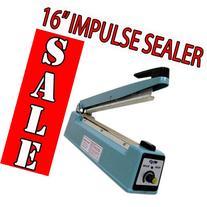 Metronic 16inch/400mm Manual Impulse Manual Hand Sealer Heat