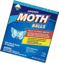 24 Pk, Original Moth Balls, 4 oz Each