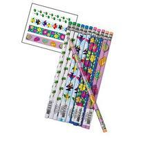 24 Tropical Luau Pencils