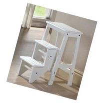 24 Step Stool in White