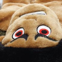 Outward Hound Kyjen  2469 Plush Puppies Squeaker Mat for