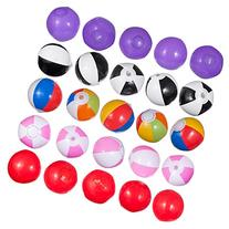 25 Mini Beach Ball Set, Great For Younger Kids Pool Parties