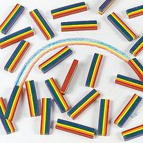 Oriental Trading Company 25 Rainbow Design Crayons