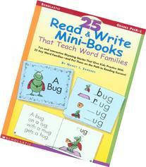 25 Read & Write Mini-Books That Teach Word Families: Fun
