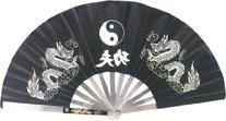 BladesUSA 2510-B Kung Fu Fighting Fan, Stainless Steel Frame