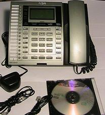 RCA 25414RE3-A 4-Line SOHO 16 Extensions Corded Telephone
