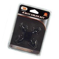 """IIT 25501 4 Way Drill Press Chuck Key Size 3/8"""" & 1/2"""""""