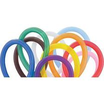 Qualatex 260 Latex Balloons Assorted Colors 250 per package