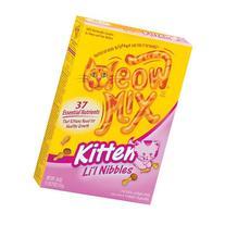 Li'L Nibbles Kitten Dry Cat Food-18 oz Box