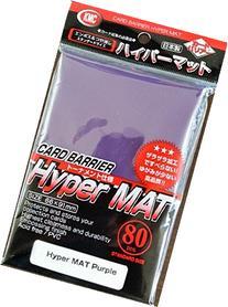 2X KMC Hyper Matte Purple Sleeves 80ct Fits Standard Size