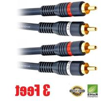 iMBAPrice  2RCA Male to 2RCA Male Home Theater Audio Cable