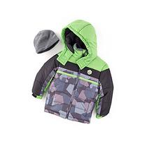 London Fog® Boys' 2T-20 Colorblock Puffer Jacket With