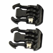 2x Black Buckle Basic Strap Mount for Gopro Hero 1 / 2 / 3