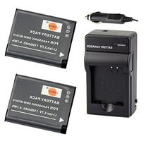 DSTE 2x DMW-BCN10 Battery + DC146 Travel and Car Charger