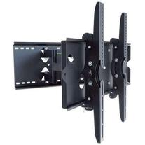 2xhome - Articulating Full Motion Swivel Tv Mount Dual Arm