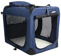 EliteField 3-Door Folding Soft Dog Crate, Indoor & Outdoor