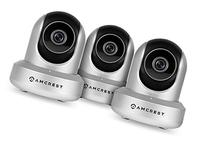 3-Pack Amcrest HDSeries 720P WiFi Wireless IP Security