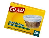 3 Pk, Glad Small Trash Bags, 4 Gallon, 30 Ct Per Pack