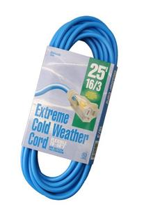 Woods 2434 16/3 Outdoor Cold-Flexible SJTW Extension Cord,