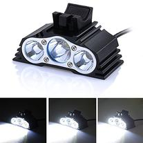 AGPtEK® 3 LED CREE 2500 Lumens Waterproof Bike Cycling