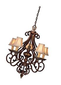 Minka Lavery 3 Light Bronze Hanging Lanterns