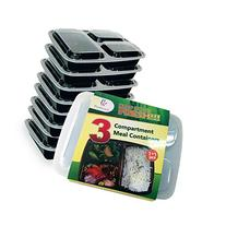 Plastiware Premium 3-compartment Plastic Food Storage