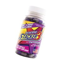 Stacker 3 Metabolizing Fat Burner with Chitosan, Capsules,