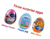 3 New Mix variety of eggs-Peppa pig, Disney frozen and star