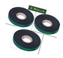 3 Rolls - Supreme Green Roll Plant Sturdy Stretch Tie Tape,
